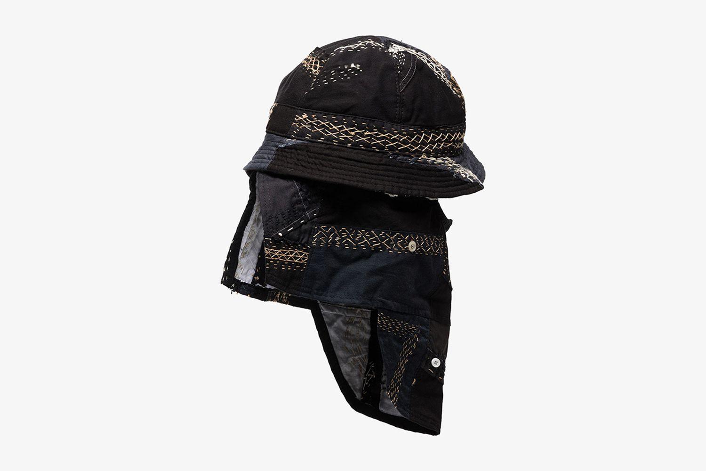 Lewis Patchwork Hat