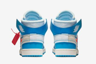 "3ea7b415bee9 Nike. Nike. Nike. Previous Next. Brand  OFF-WHITE x Nike. Model  Air Jordan  1 ""UNC"""