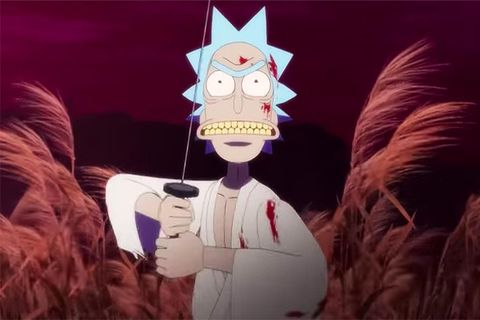 Rick and Morty are back in new bloodsoaked short