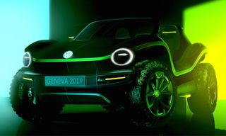 Volkswagen Unveils Its All-Electric Dune Buggy Concept