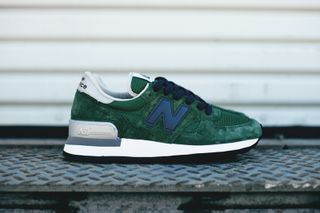 "buy online 52929 6a866 New Balance ""Made In USA"" 990 Green"