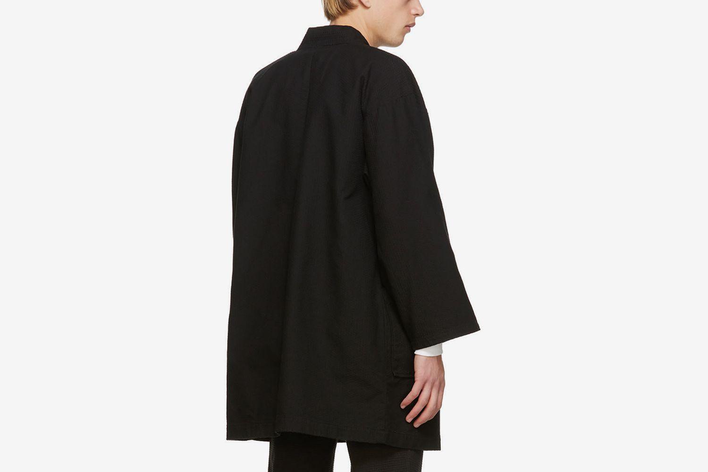 Sashiko Farmer Coat