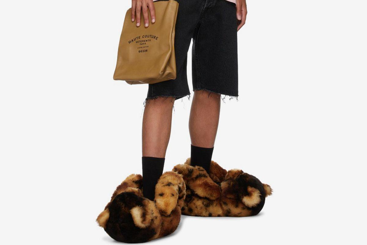 vetements teddy loafers