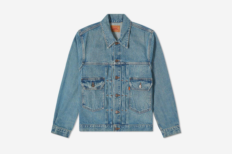 Washed Type 2 Denim Jacket