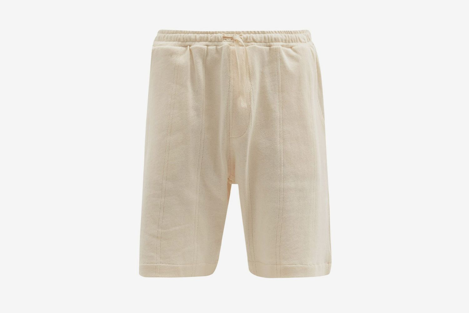 Weston Striped Organic-Cotton Jersey Shorts