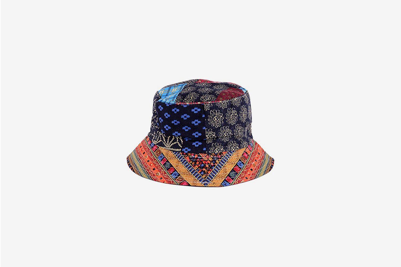 Printed Fisherman Bucket Sun Hat