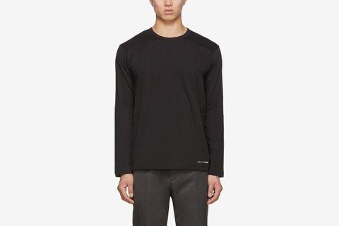 Logo Hem Long Sleeve T-Shirt