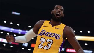 1183b05fe0f First Look at LeBron James as a Laker in 'NBA 2K19' Gameplay Trailer