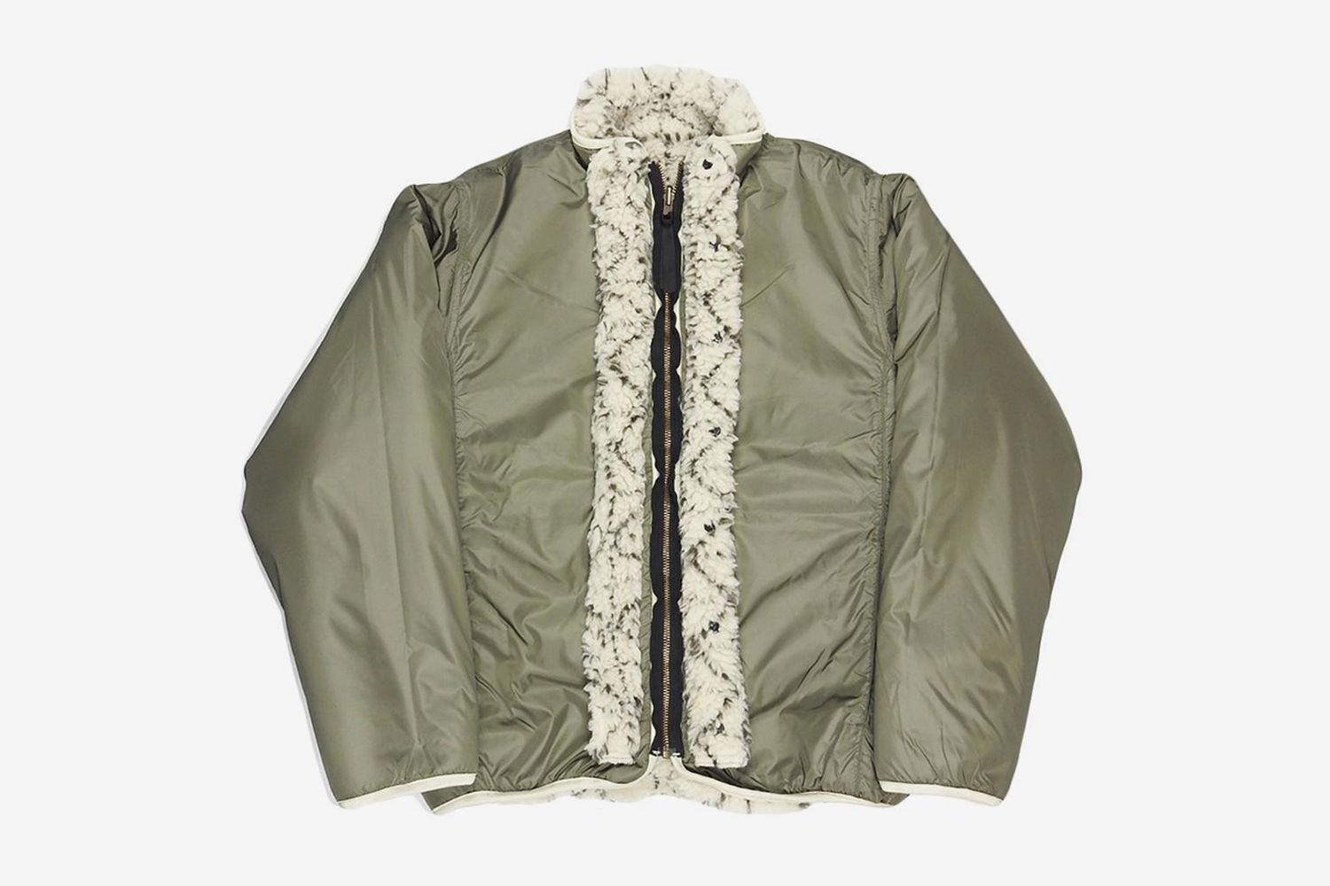 Do-Gi Sashiko Boa Fleece Reversible Jacket
