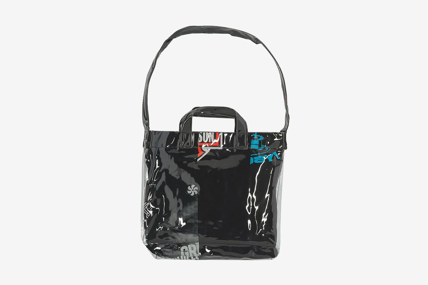 PVC Messenger Bag Multi 5