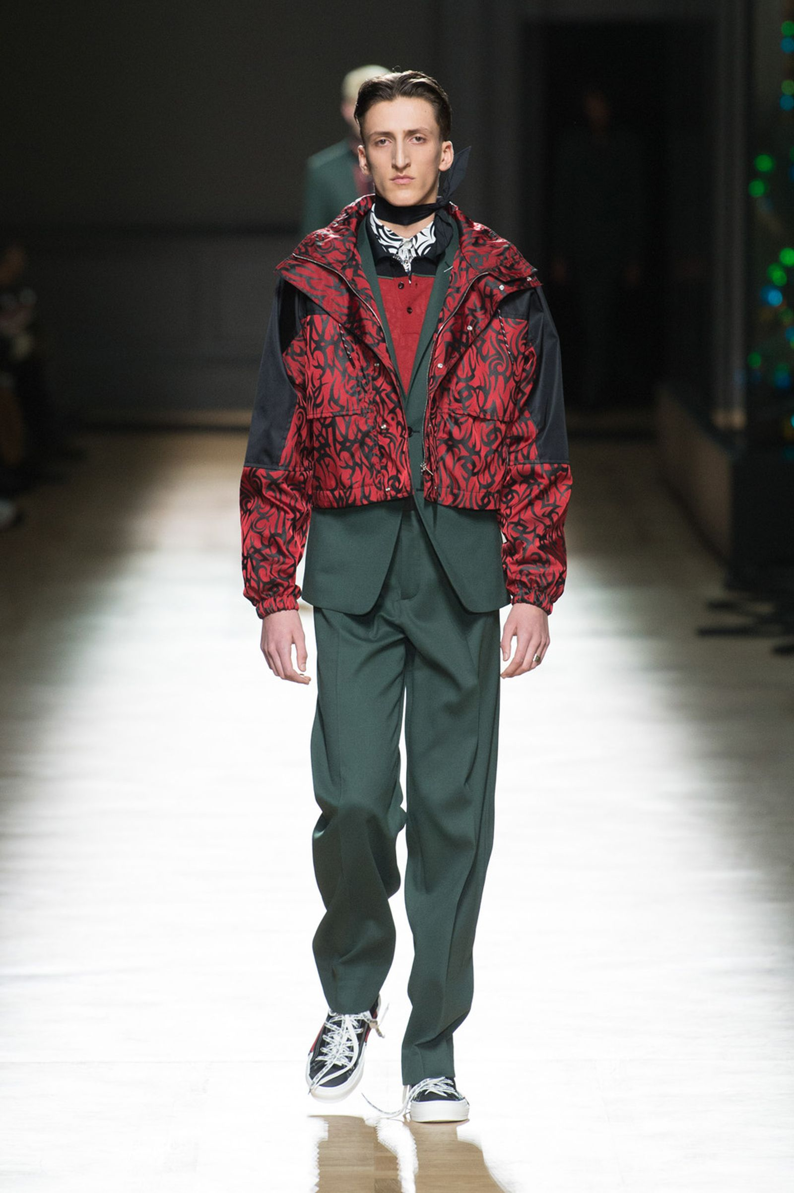 DIOR HOMME WINTER 18 19 BY PATRICE STABLE look24 Fall/WInter 2018 runway