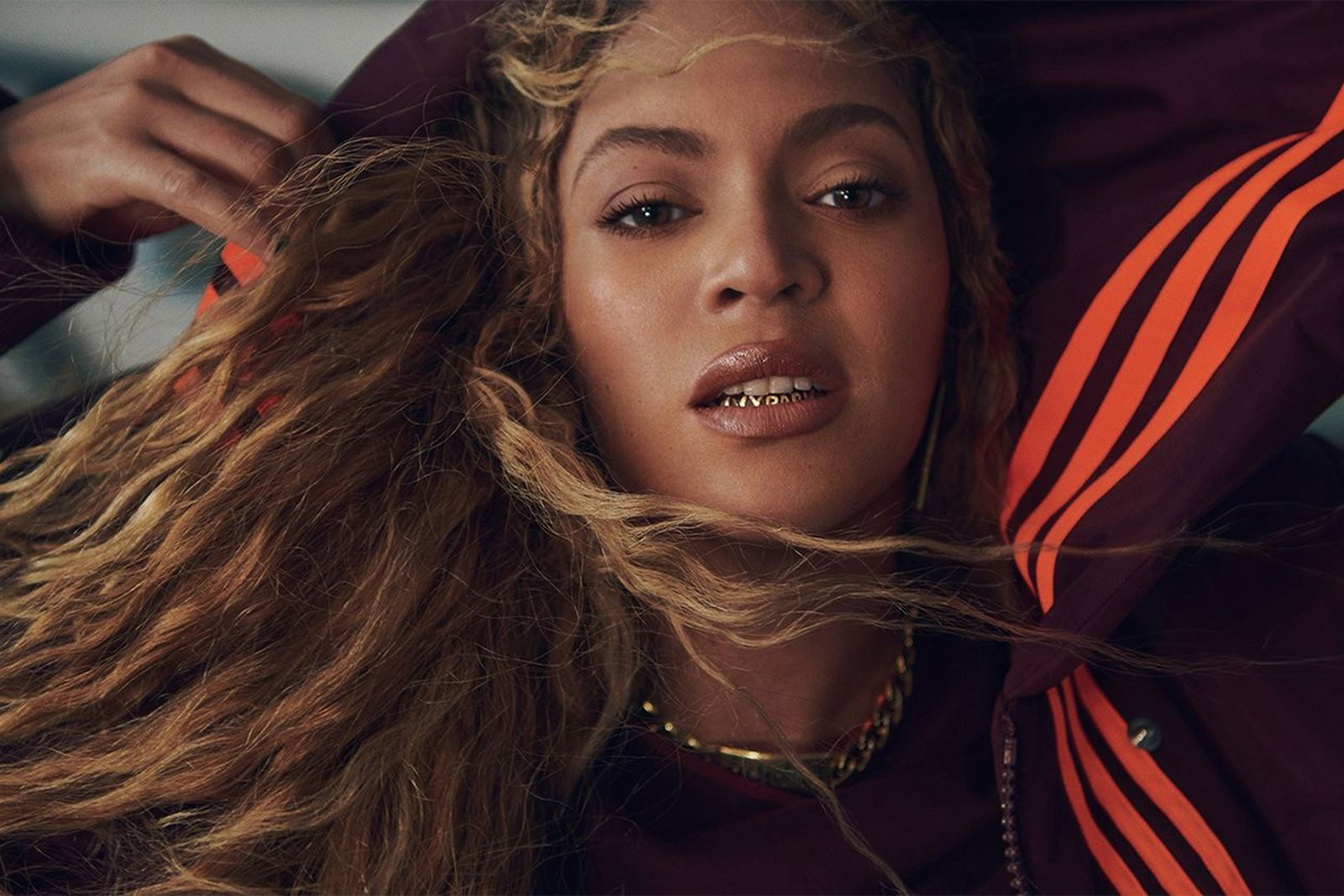 Beyonce Ivy Park adidas grillz
