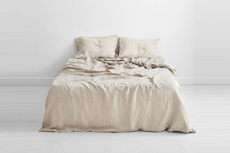100% Flax Linen Bedding Set
