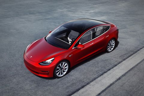 tesla model 3 available Elon Musk