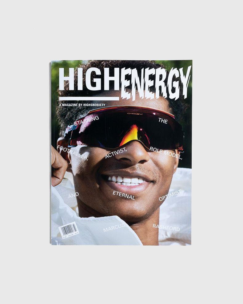 HIGHEnergy - A Magazine by Highsnobiety