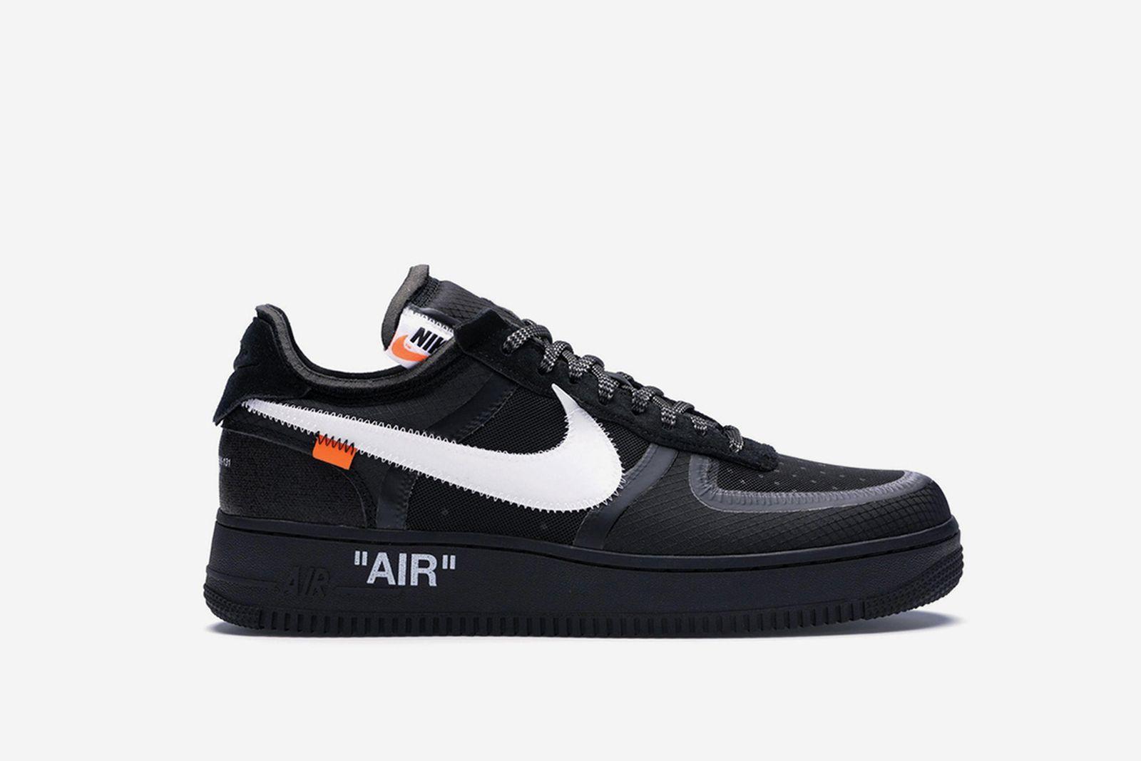 off white af1 black GOAT Nike The Ten OFF-WHITE c/o Virgil Abloh