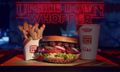 "Burger King Collabs With 'Stranger Things' on ""Upside Down"" Whopper"