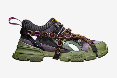 sneakers bigger heavier Adidas Balenciaga Gucci