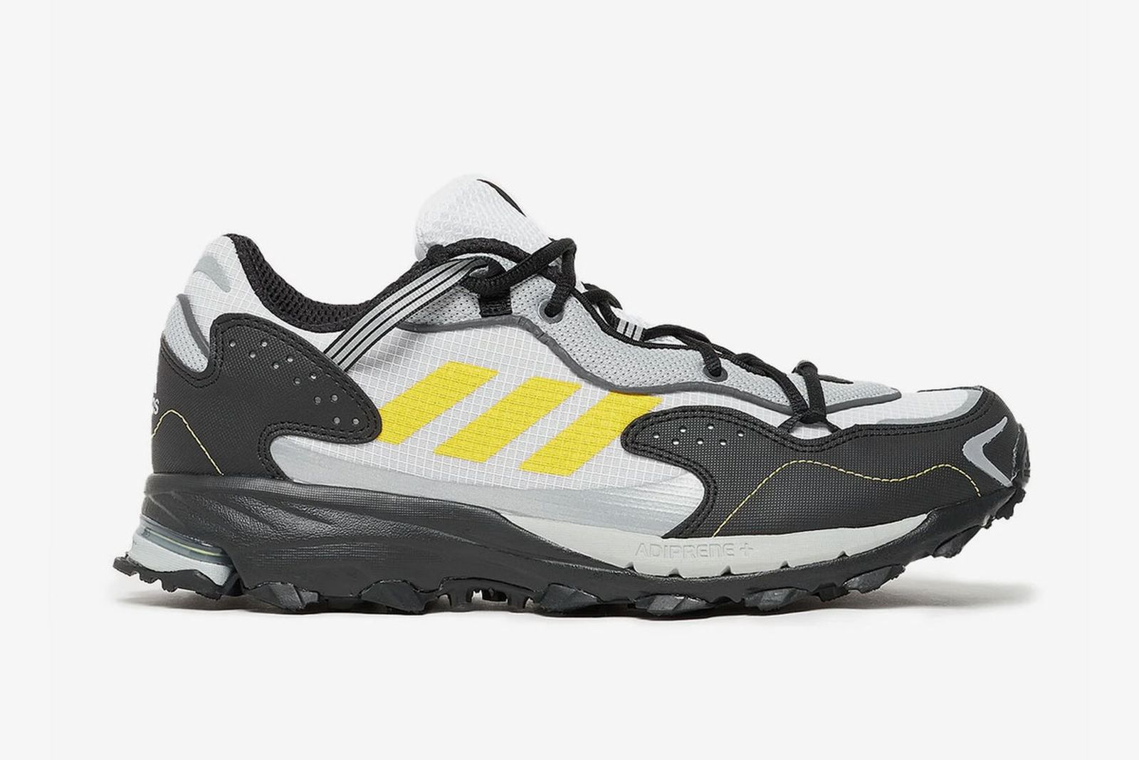adidas Response Hoverturf in white and yellow
