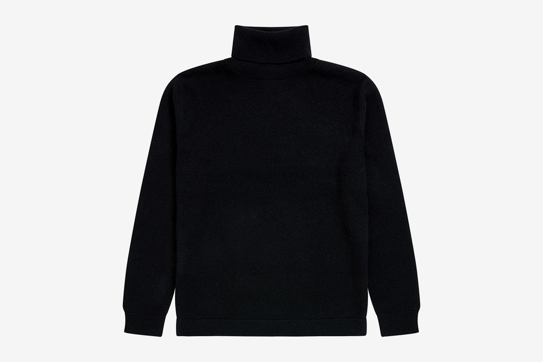 Eco Cashmere Turtleneck Sweater