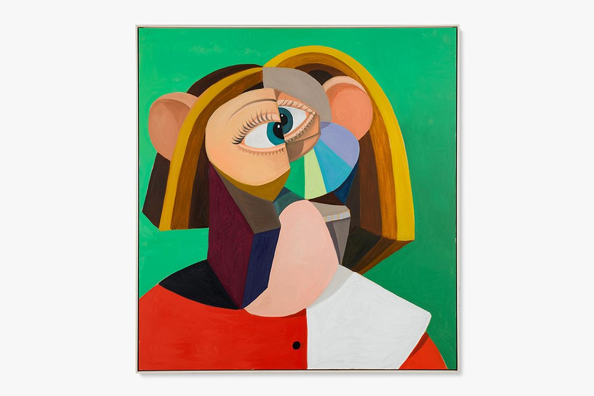 George Condo Woman with Golden Hair