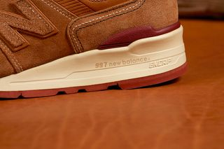 official photos 763e8 14c1f Red Wing Gives the New Balance 997 a Classic
