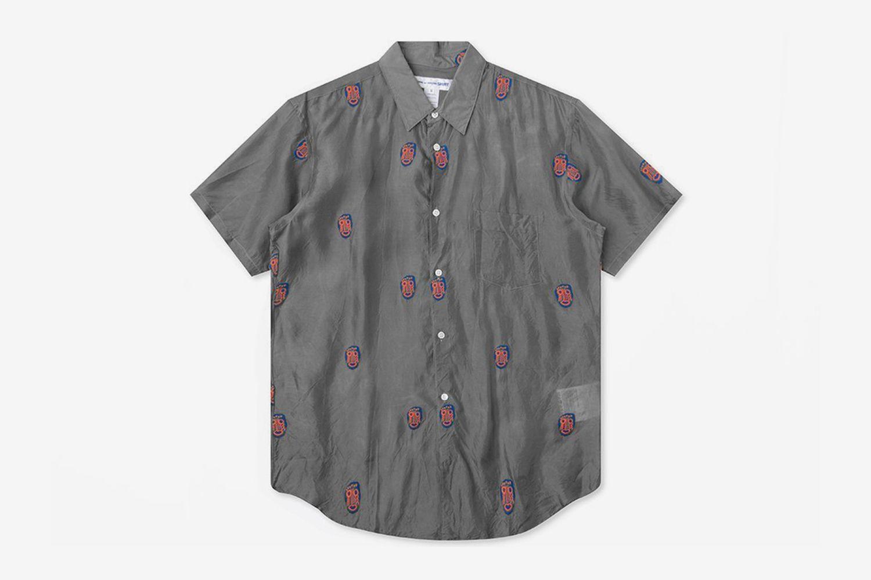 Mask Embroidered Shirt