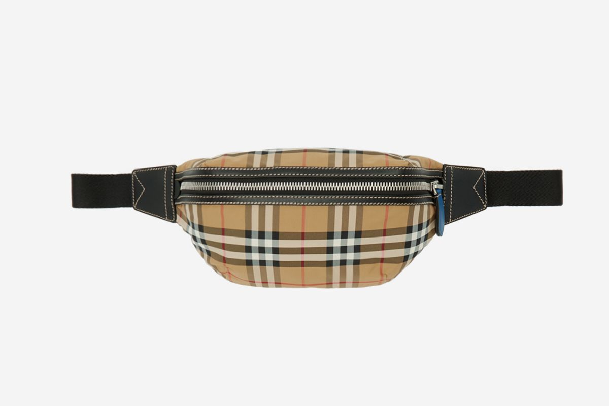 Vintage Check Bum Bag