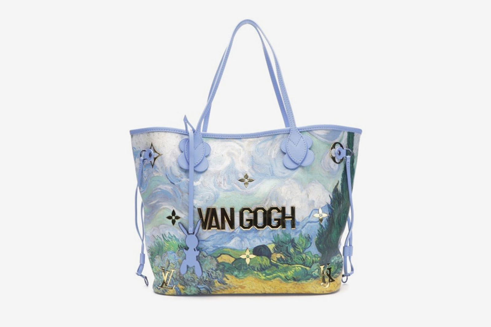 Louis Vuitton x Jeff Koons Neverfull Van Gogh Masters