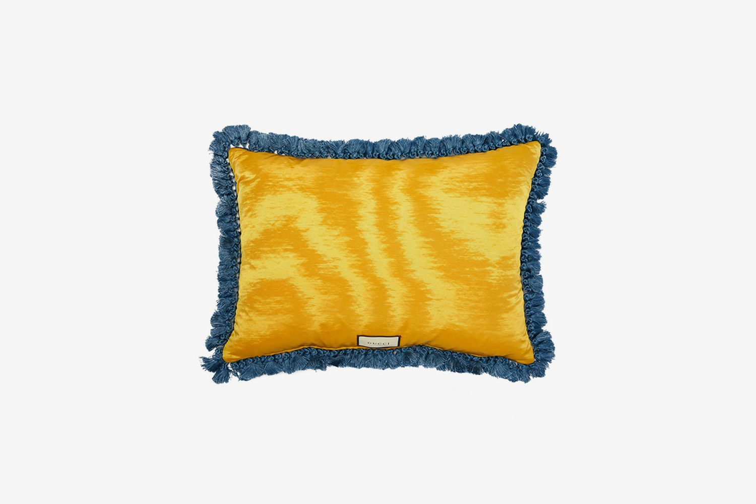 Maison de L'Amour-Embroidered Wool Cushion