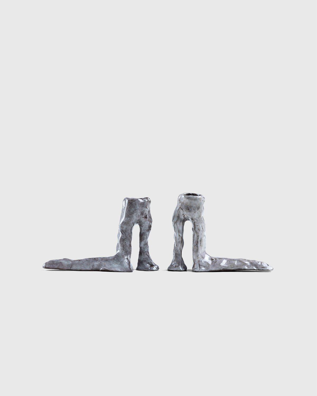 Laura Welker – Candle Holder Light Grey - Image 1