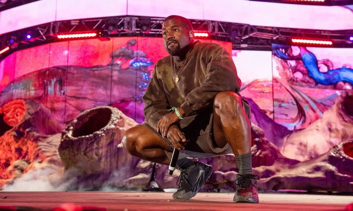 2019 Coachella Valley Music And Arts Festival Weekend 2 Day 2 kanye west
