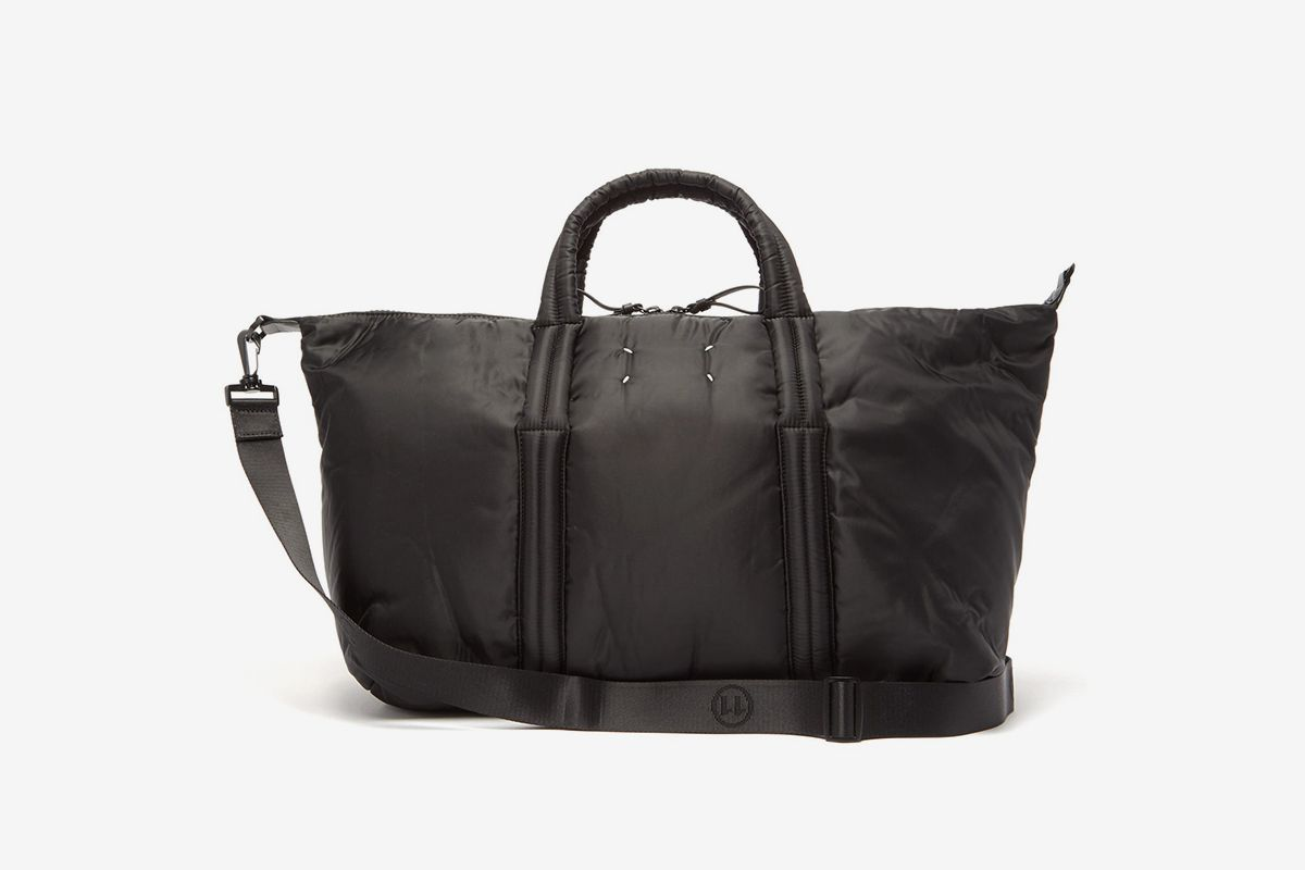 Four-Stitch Padded-Shell Holdall
