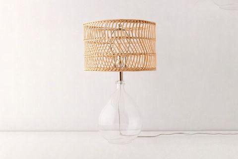 Teardrop Glass Table Lamp