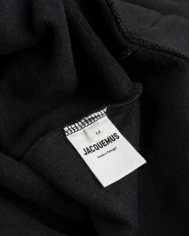 Jacquemus – Le Sweartshirt Brode Black - Image 4