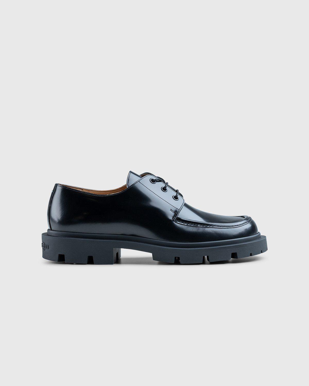 Maison Margiela – Cleated Sole Shoes Black - Image 1