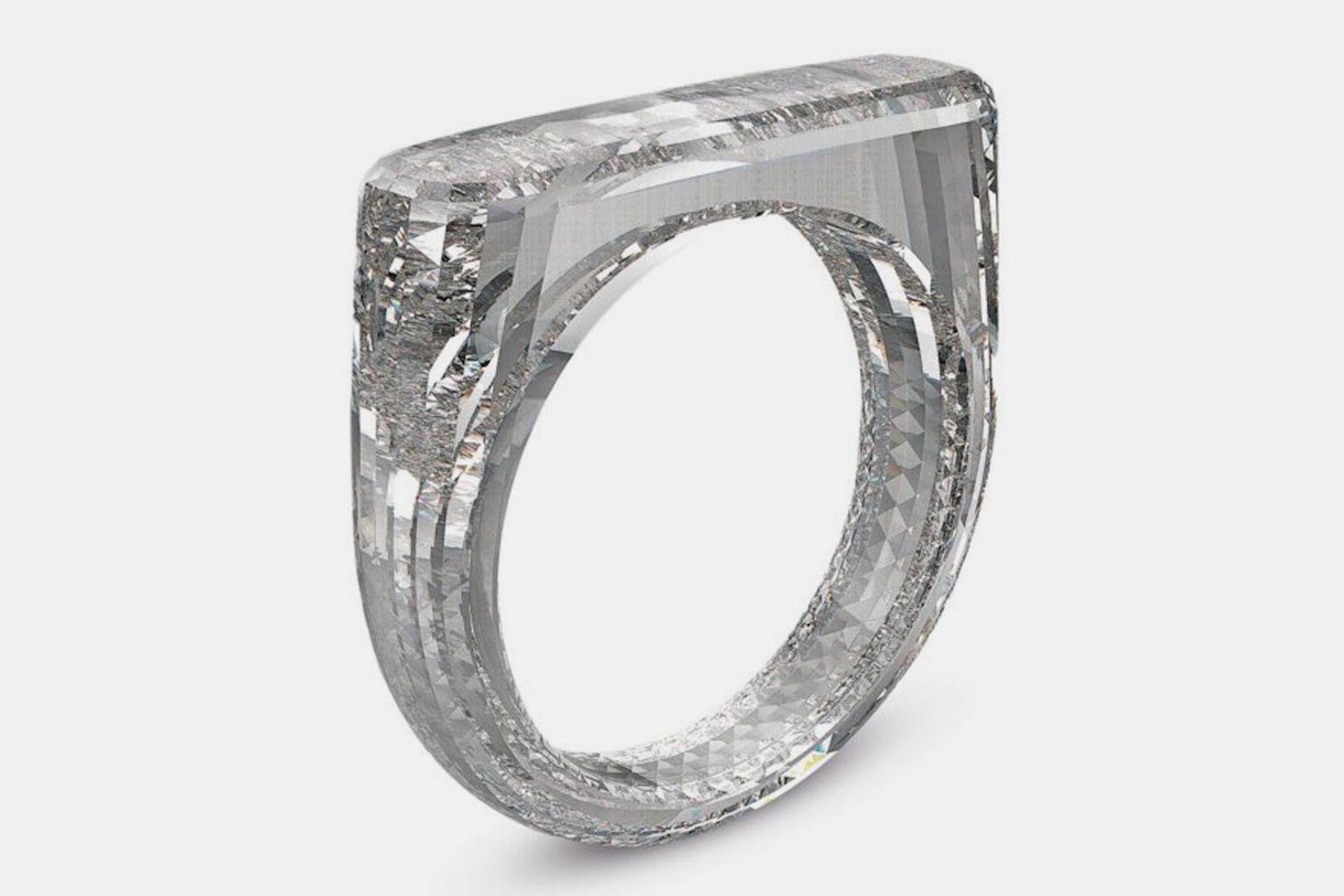 jony ive marc newson diamond ring sothebys Diamond Foundry