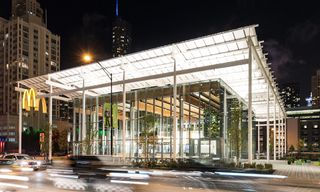 McDonald's Stunning New Chicago Flagship Looks Like an Apple Store
