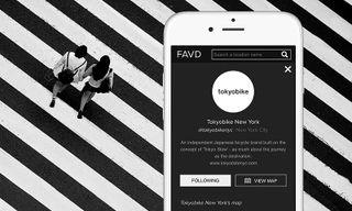 FAVD x Tokyobike Interactive Map