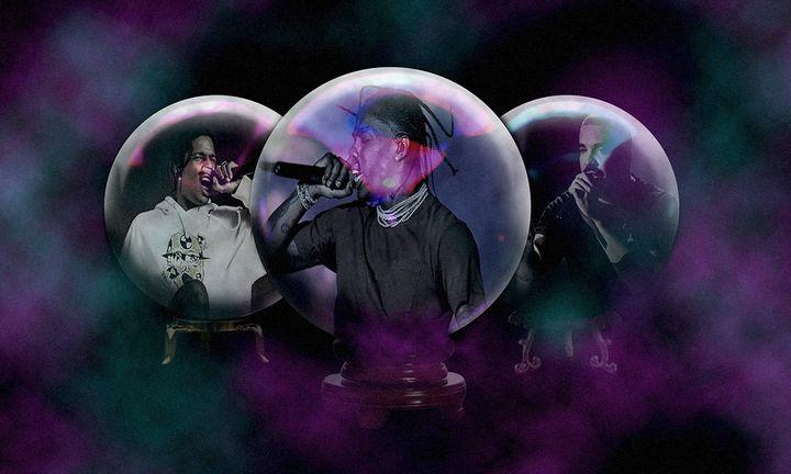 Travis Scott Drake Hip Hop