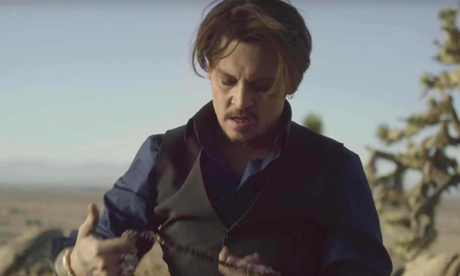 3be6358d1 Johnny Depp Stars in Dior's New Short Film for