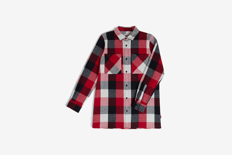 Boyfriend Multicolor Flannel Shirt