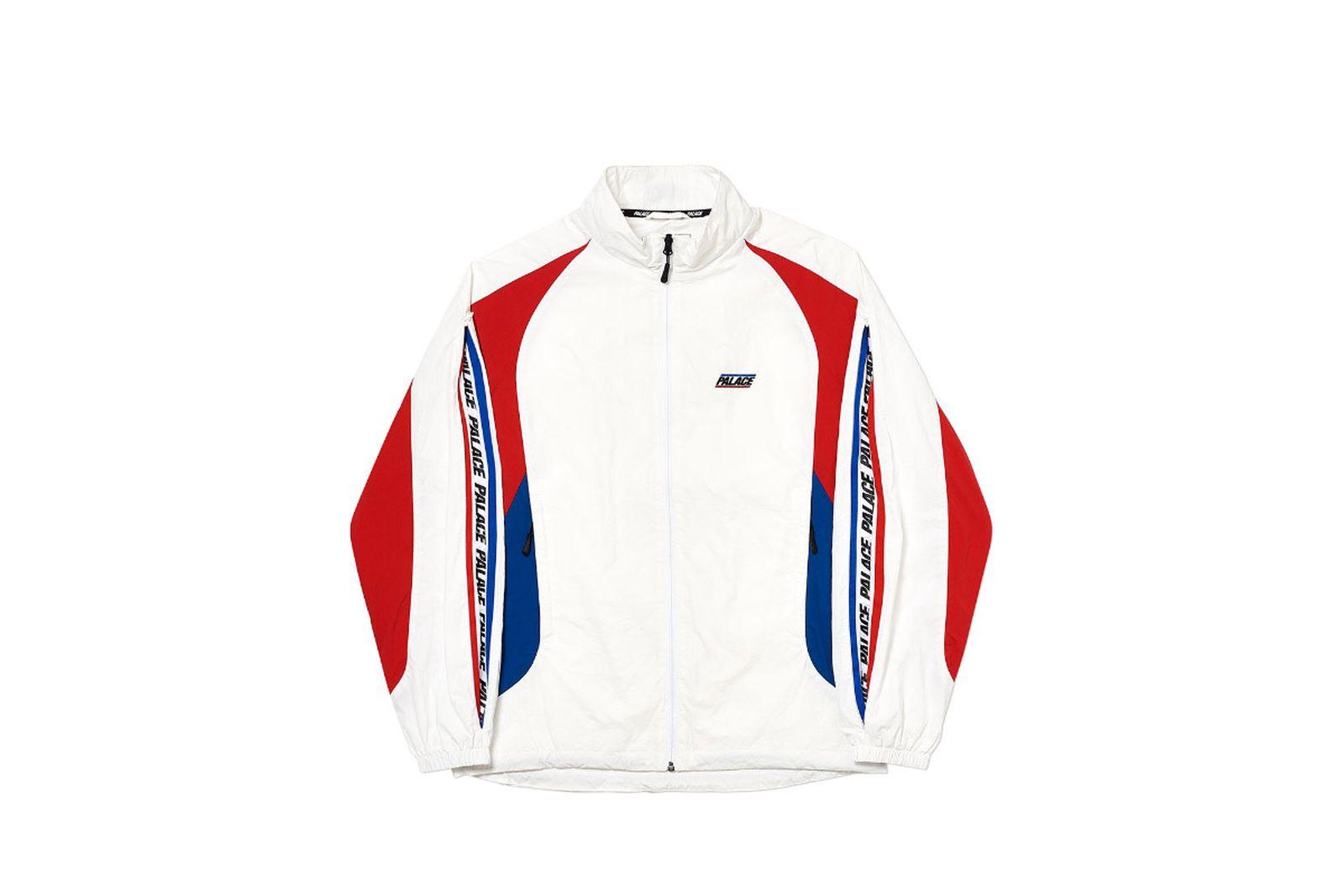 Palace 2019 Autumn Jacket revealer shell white front sleeve option