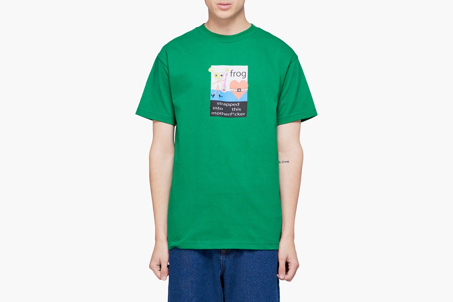 Strapped In Tee