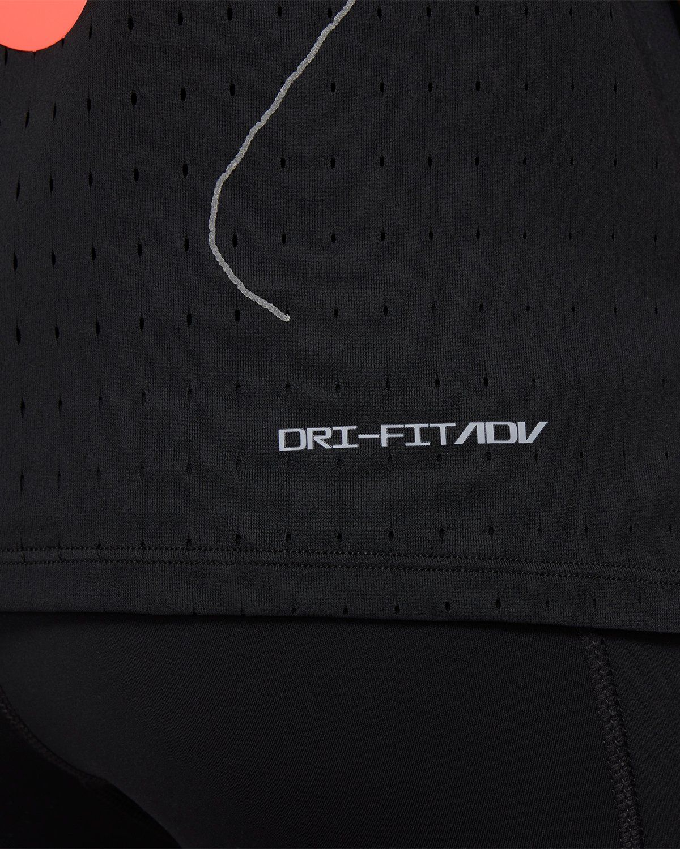 Nike x Highsnobiety – Womens Dri-Fit Berlin Aeroswift Singlet Black - Image 5