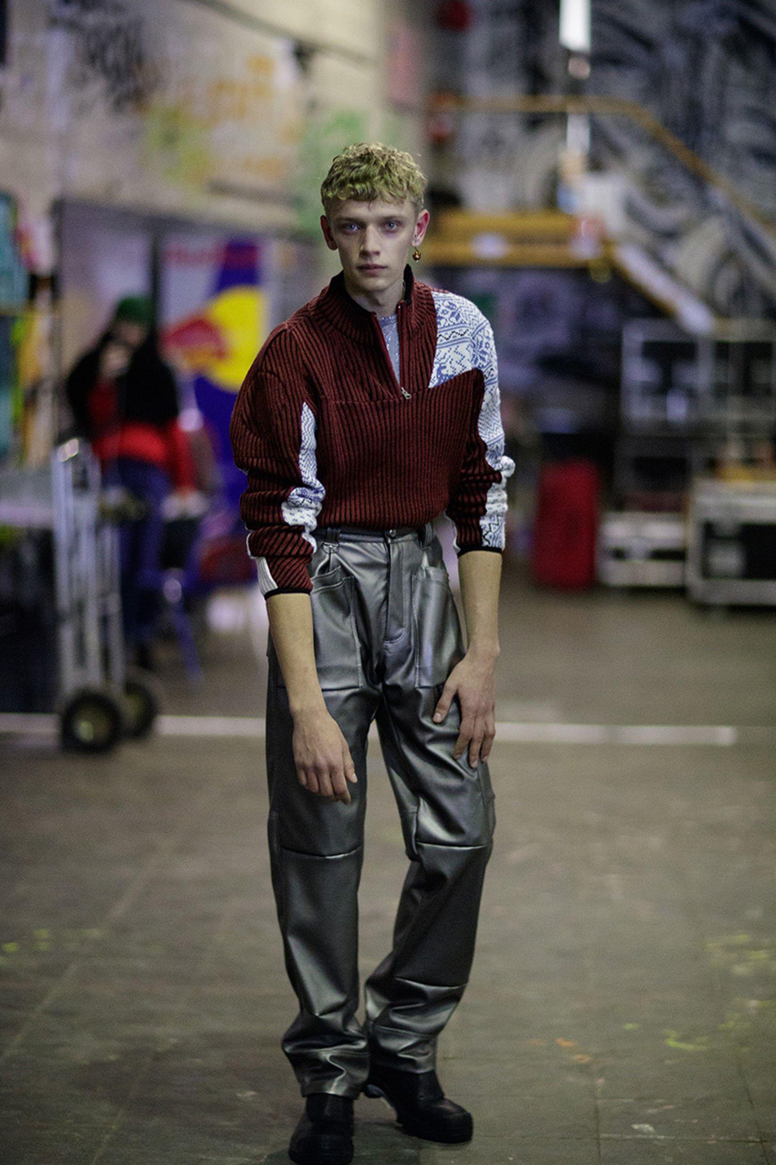 GmbH paris fashion week runway