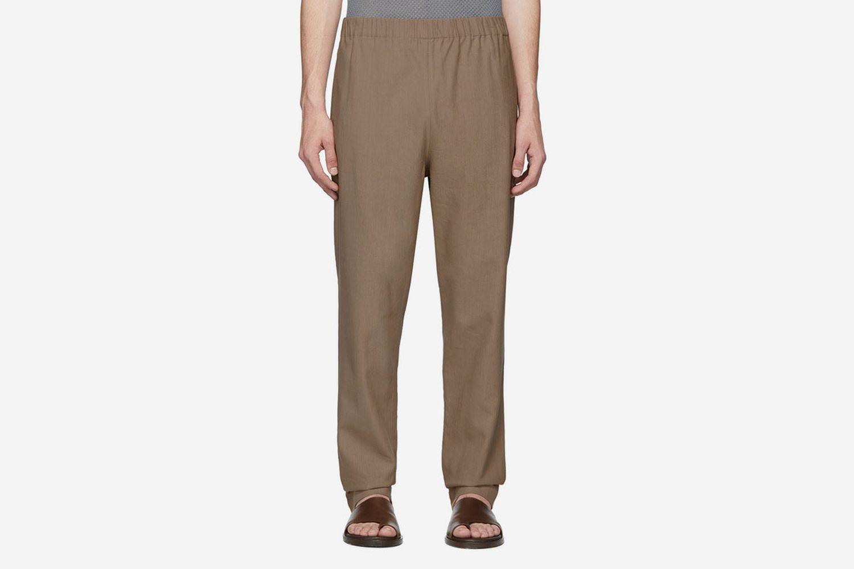 SSENSE Exclusive Linen Viscose Trousers