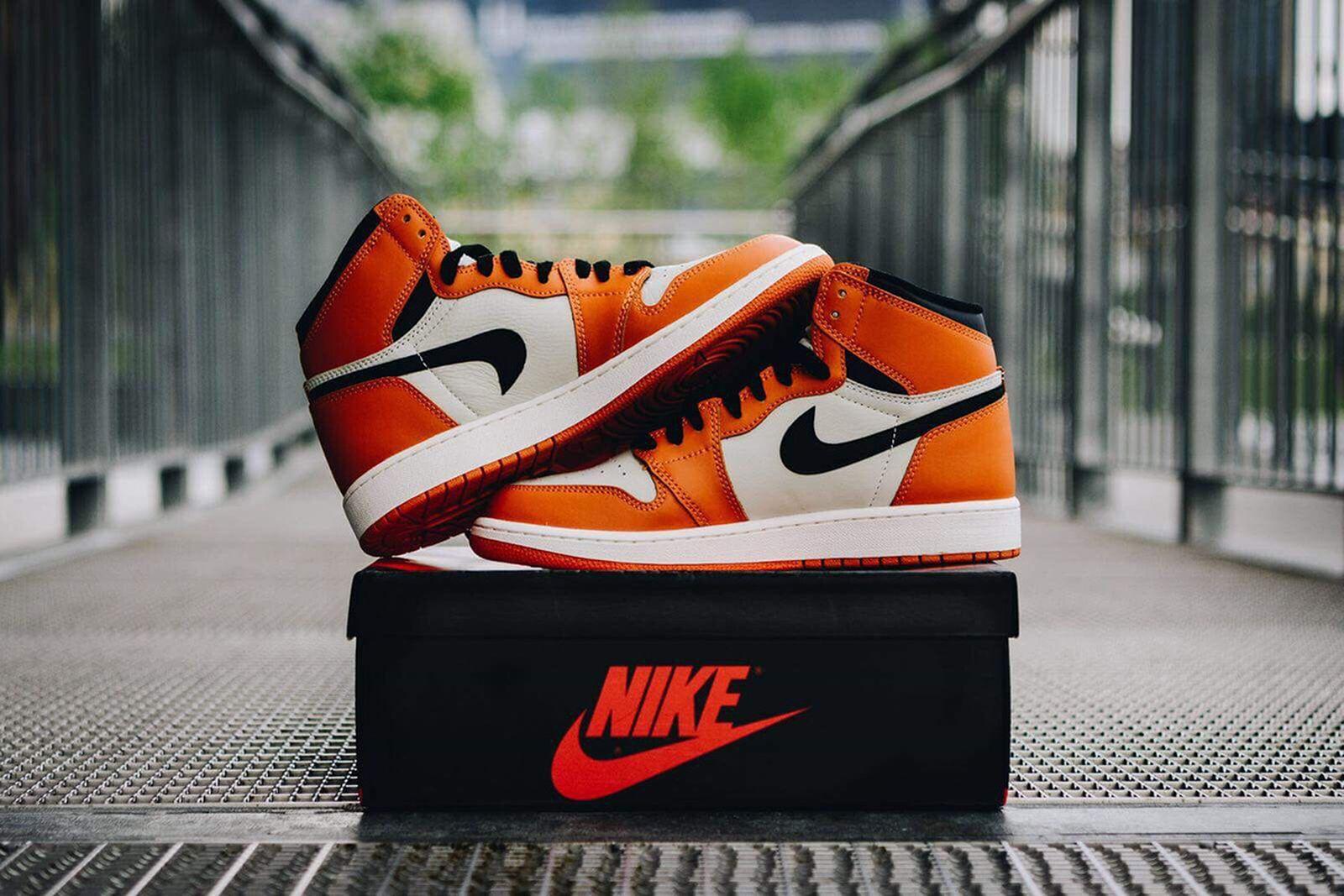 flipped swoosh reverse shattered backboard air jordan 1 Nike air jordan i