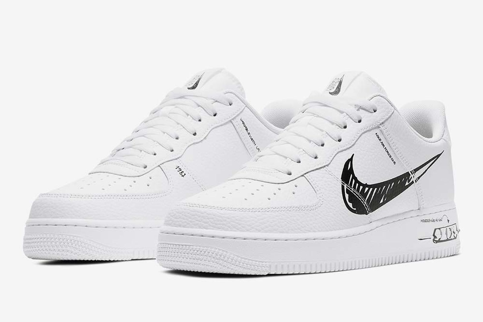 Nike Air Force 1 Sketch