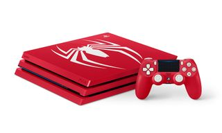 "Sony Reveals ""Amazing Red"" Spider-Man PS4 Pro Bundle"